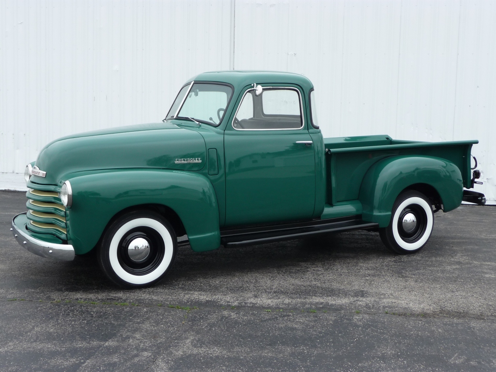 Driven Restorations 1949 Chevy Pickup Truck Interior