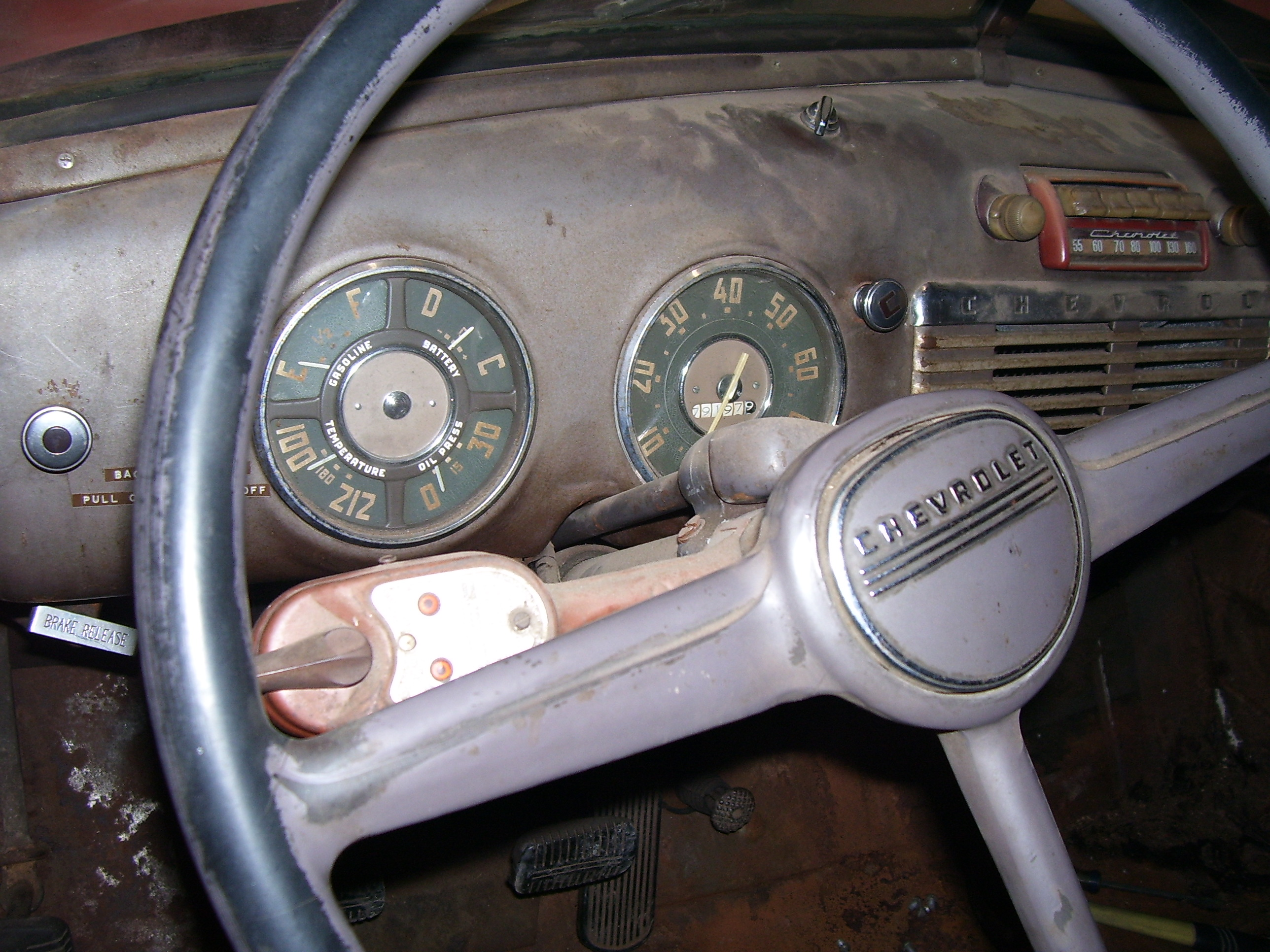 Driven Restorations 1949 Chevy Truck Heater