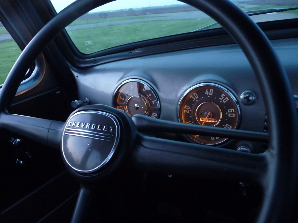 Driven Restorations 1949 Chevy Steering Wheel Top